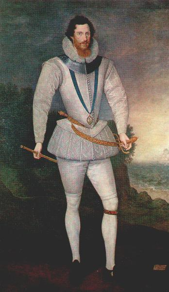 Marcus Gheeraerts the Younger, Earl of Essex (Woburn), c1596