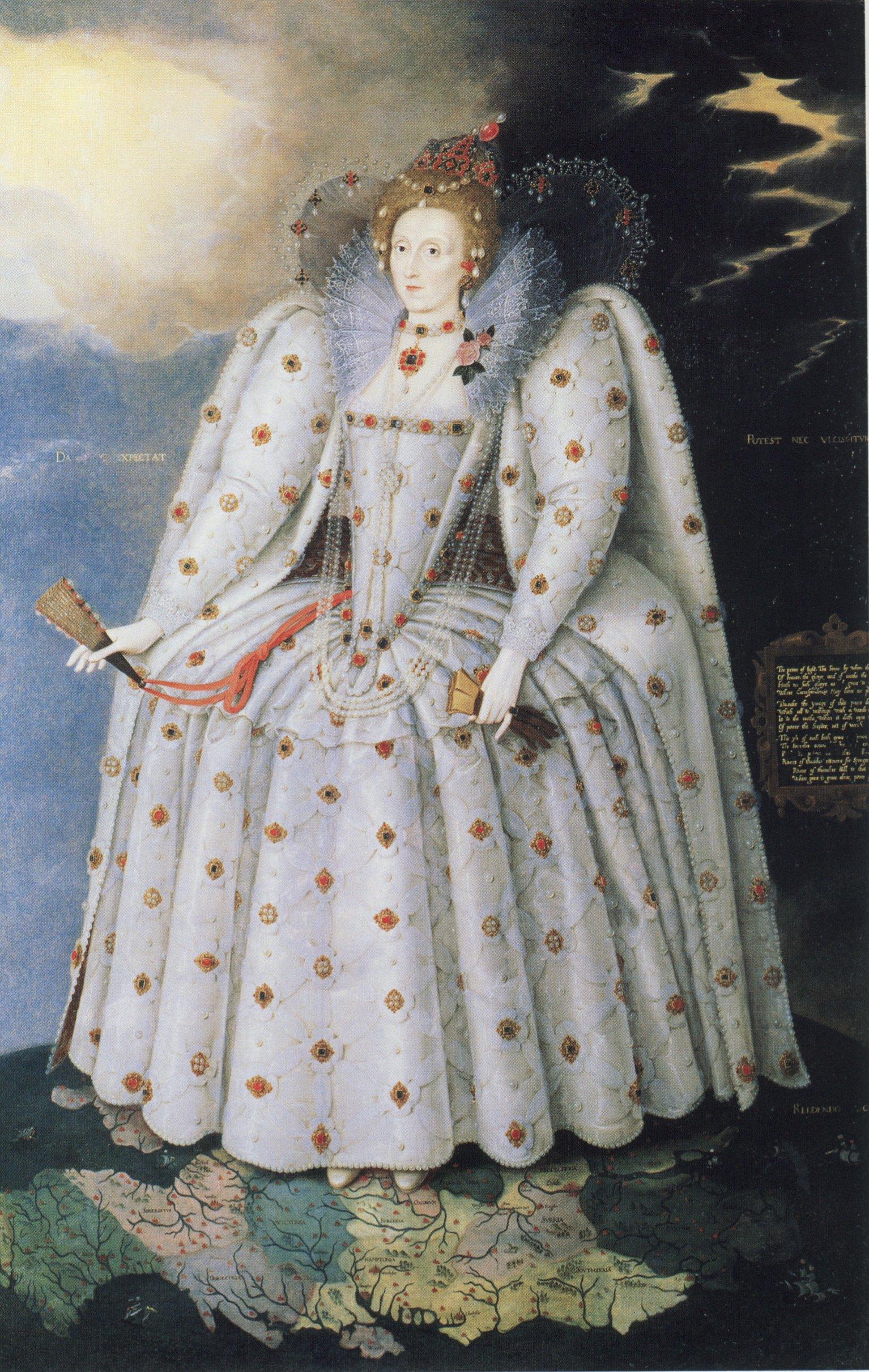 Marcus Gheeraerts Elizabeth I The Ditchley Portrait c1592