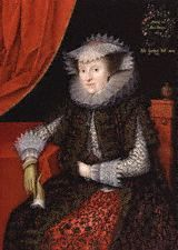 Marcus Gheeraerts, Mary Throckmorton, Lady Scudamore, 1615