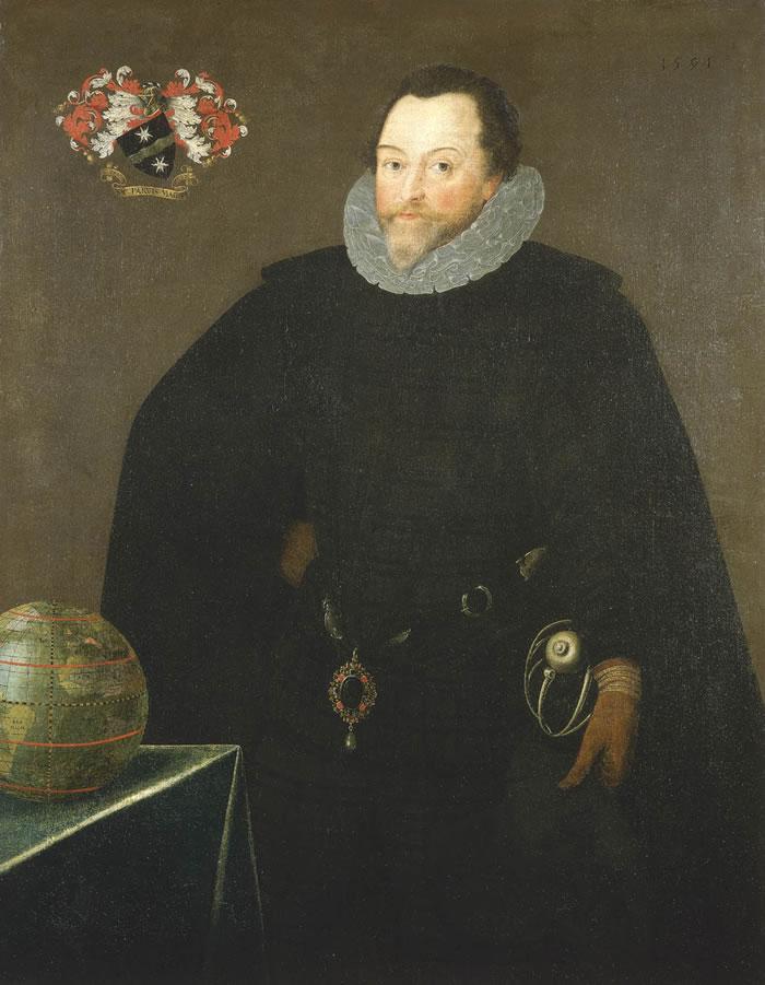 Gheeraerts Sir Francis Drake