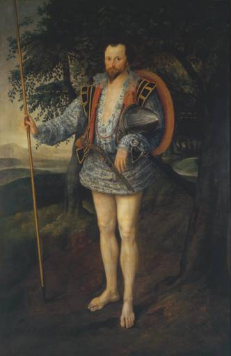 Marcus Gheeraerts the Younger, Captain Thomas Lee, (Tate Britain), 1594
