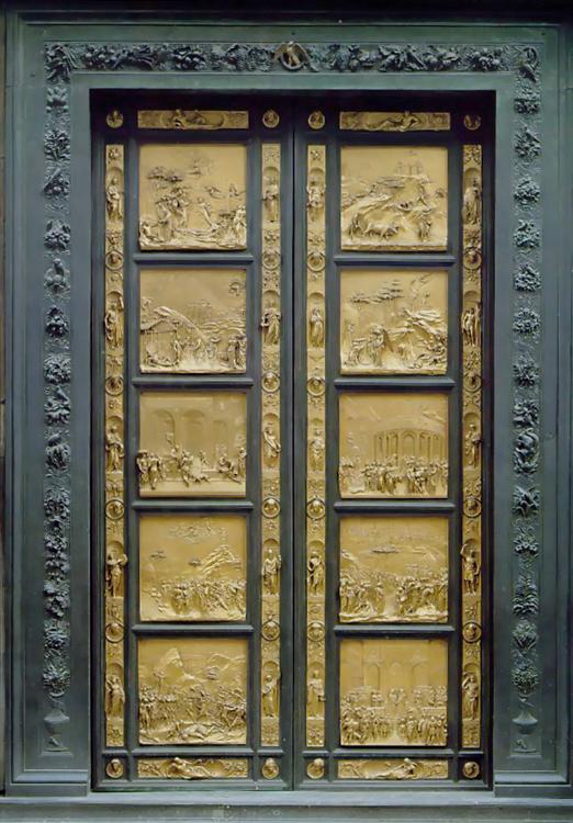 Ghiberti_2nd_Baptistery_doors_Gates_of_Paradise1425