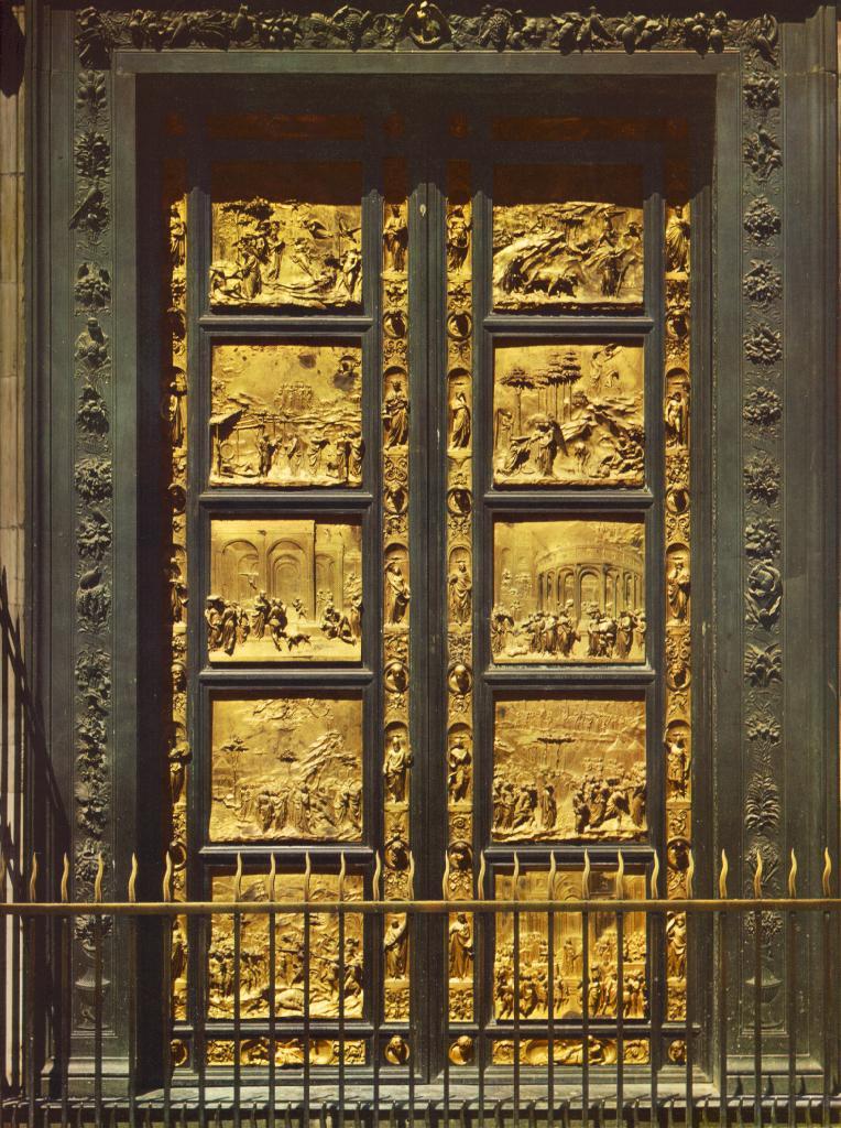 Ghiberti_Baptistery_doors_east