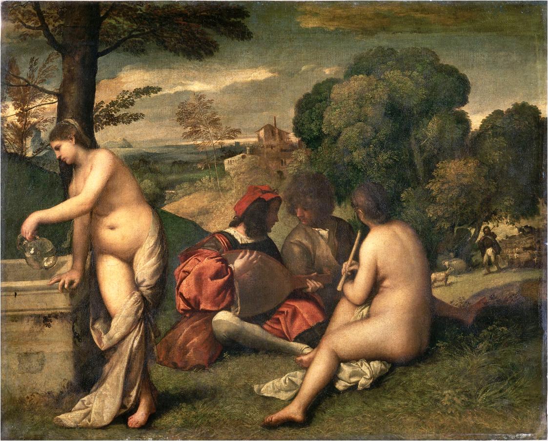 Giorgione_Fete_Champetre_1508-9