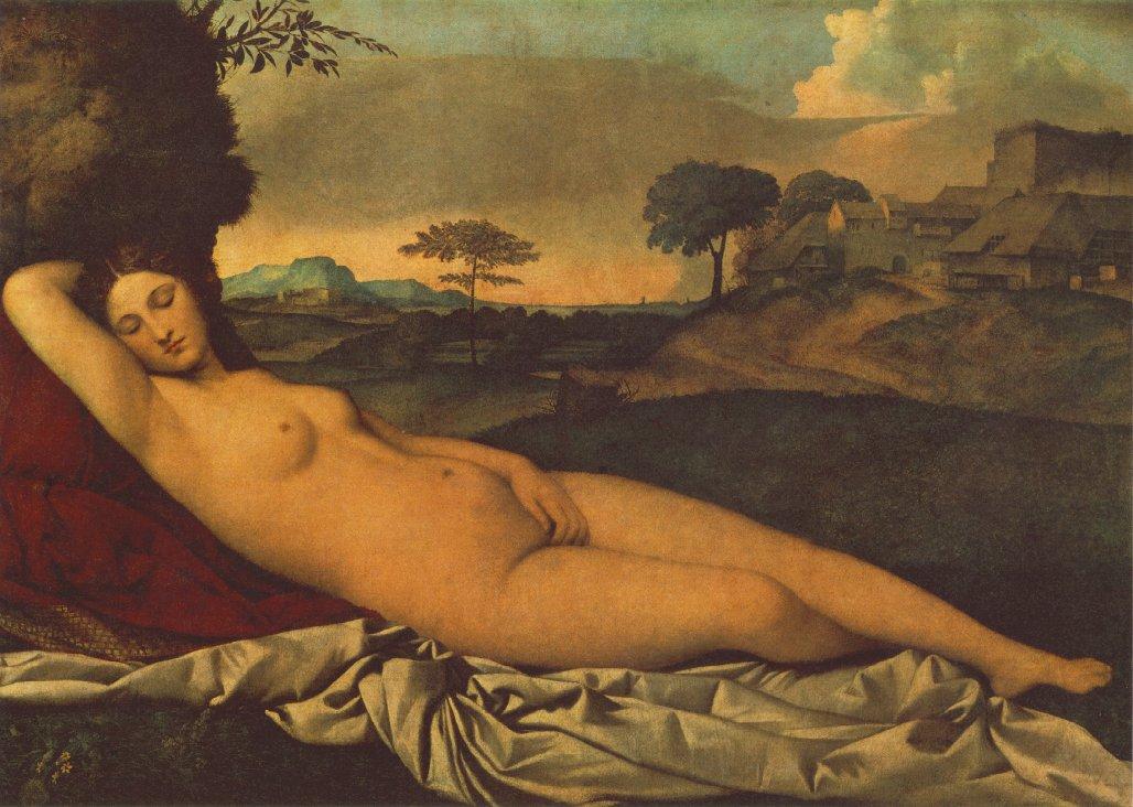 Giorgione_Sleeping_Venus