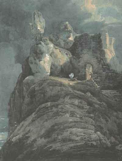 Girtin_Bamburgh_Castle_Northumberland_c1797-9