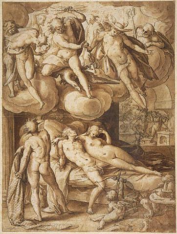 Goltzius Venus and Mars 1585