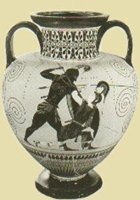 Greek_Vase_Achilles_slaying_Penthesilea