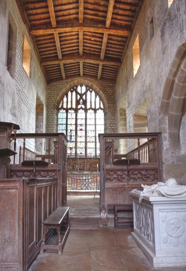 Haddon Hall chapel 15thC