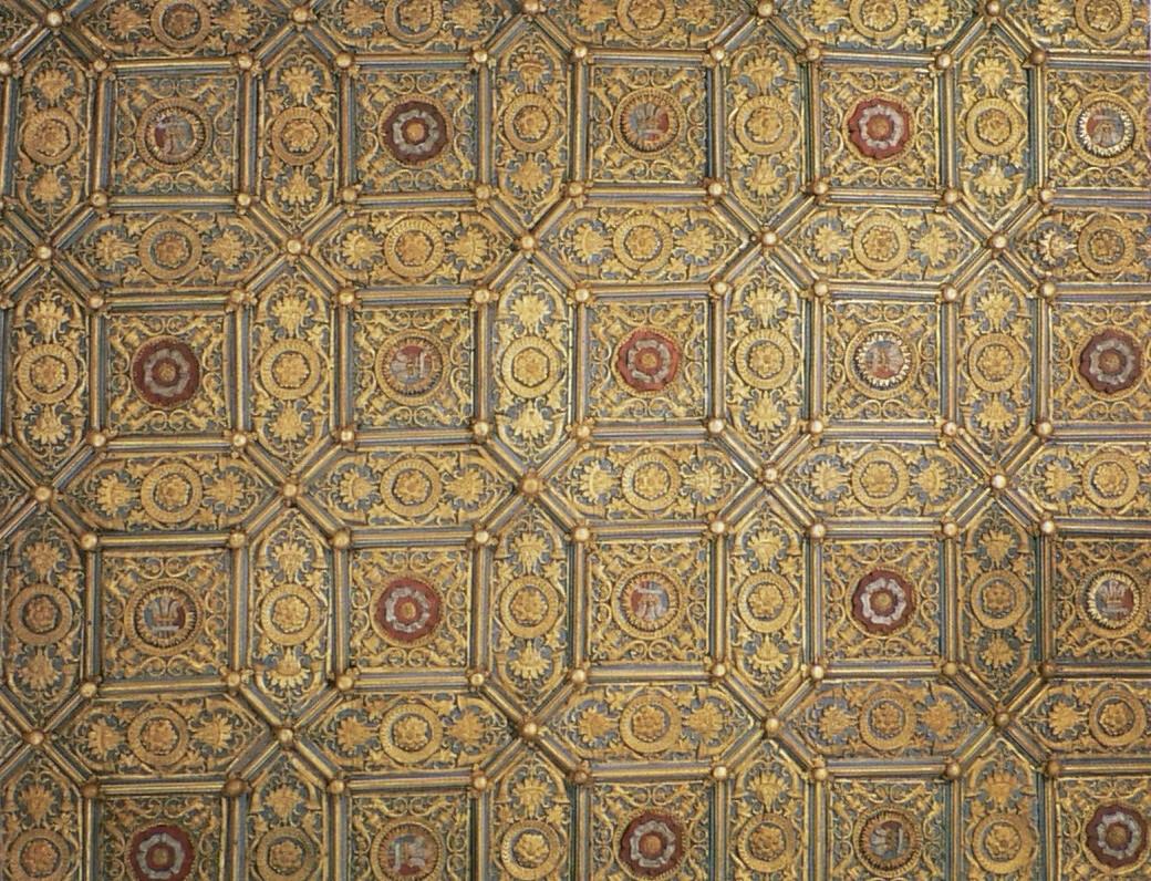 Hampton Court Wolsey Closet ceiling