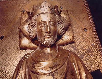 Henry III tomb effigy 1290