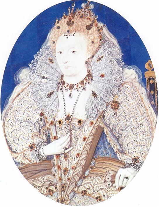 Hilliard Elizabeth I 1595-1600