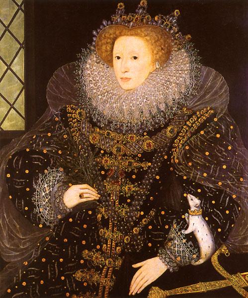 Hilliard Elizabeth I The Ermine Portrait 1585