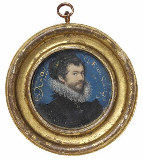 Hilliard Self-portrait 1577