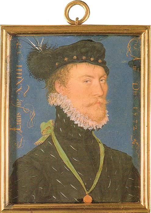 Hilliard Unknown Man 1572