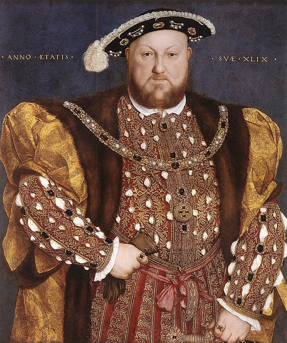 Holbein after Henry VIII c1540