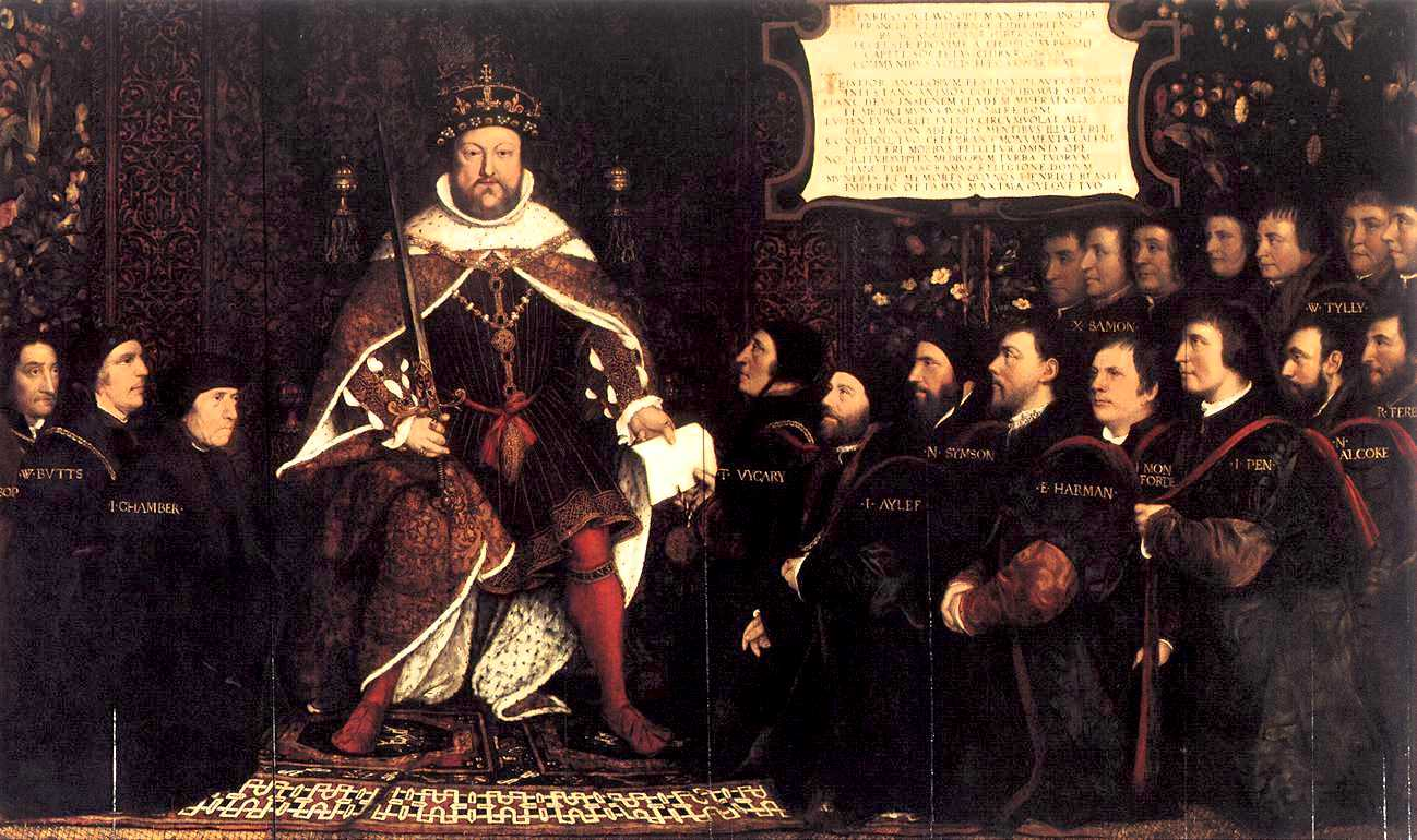 Holbein and workshop Henry VIII and the Barber_Surgeons_c1540s