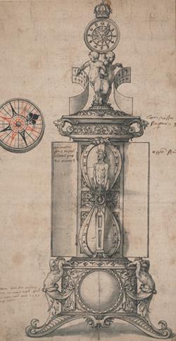 Holbein Clocksalt design 1543