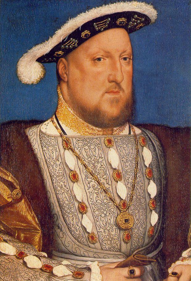 Holbein Henry VIII 1536