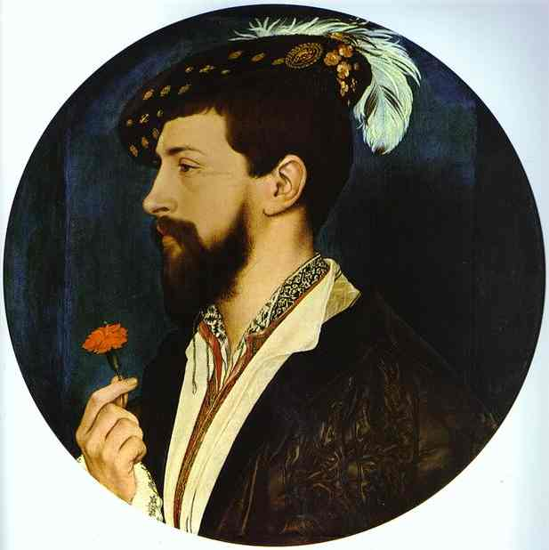 Holbein Portrait of Simon George of Quocote c1535