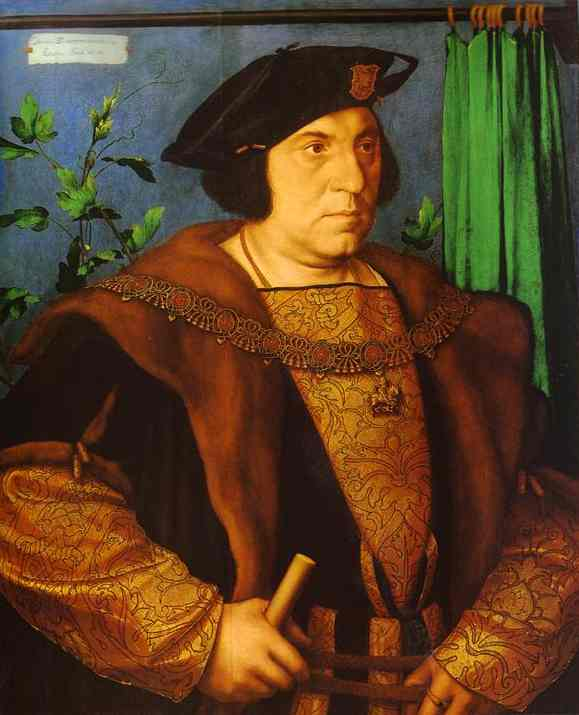 Holbein Portrait of Sir Henry Guildford 1527