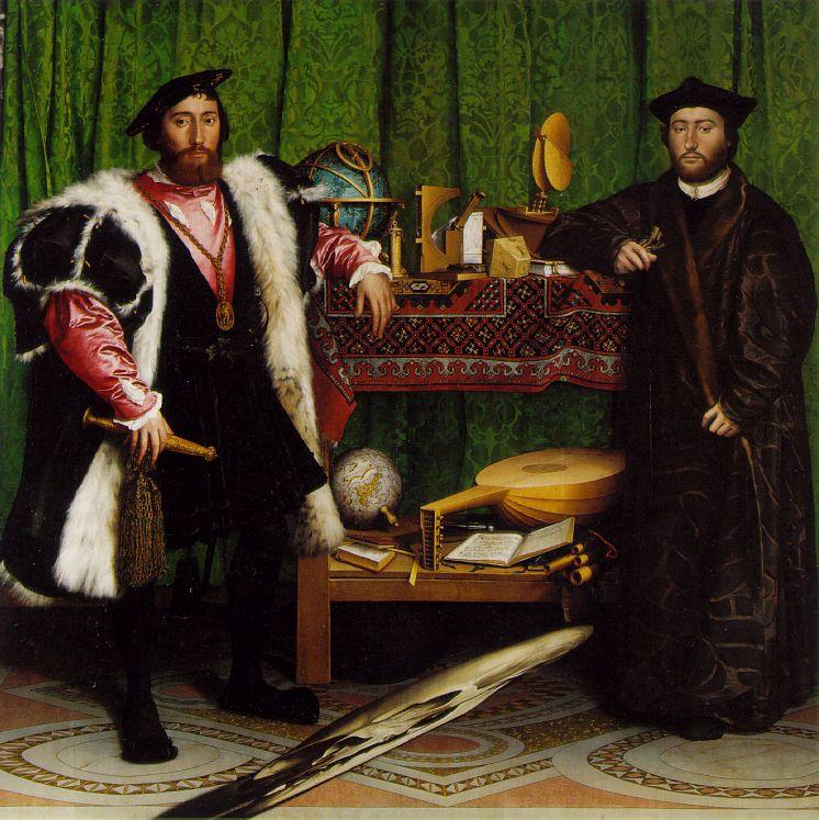 Holbein The Ambassodors 1533