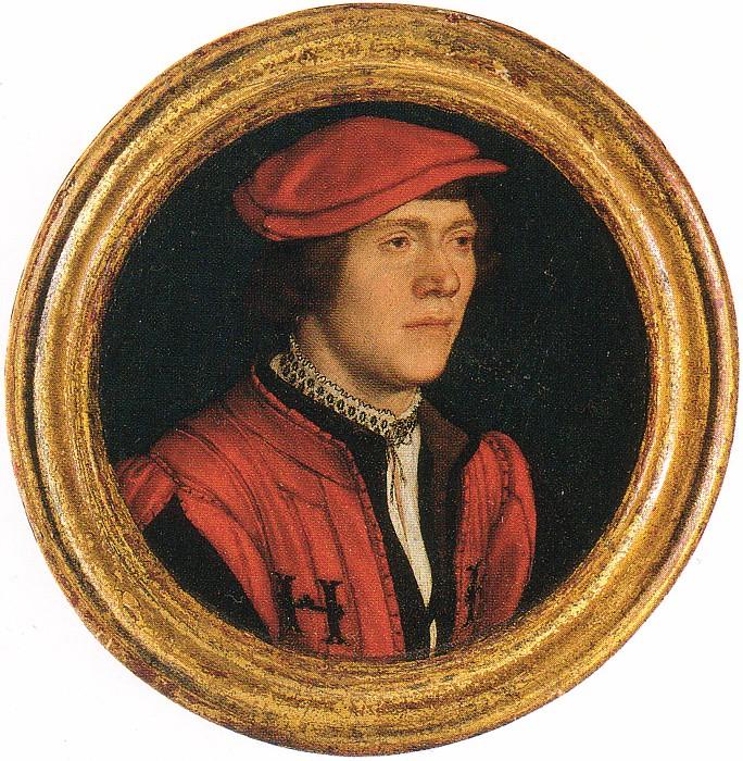 Holbein Unknown man Red Jacket