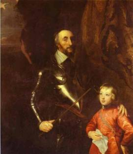 Anthony van Dyck. Thomas Howard, 2nd Earl of Arundel and Surrey with His Grandson Lord Maltravers.