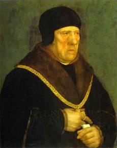 Hans Holbein. Portrait of Sir Henry Wyatt.