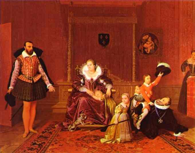 Ingres_Henry_IV_Receiving_the_Ambassador_of_Spain_1817
