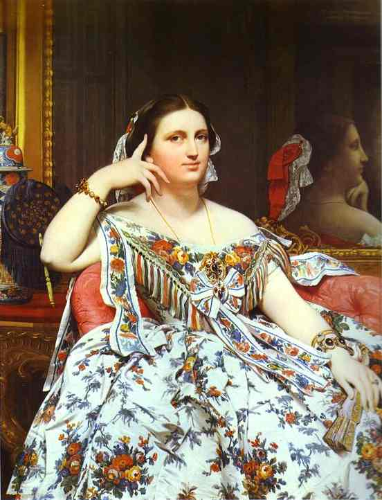 Ingres_Madame_Moitessier_1856