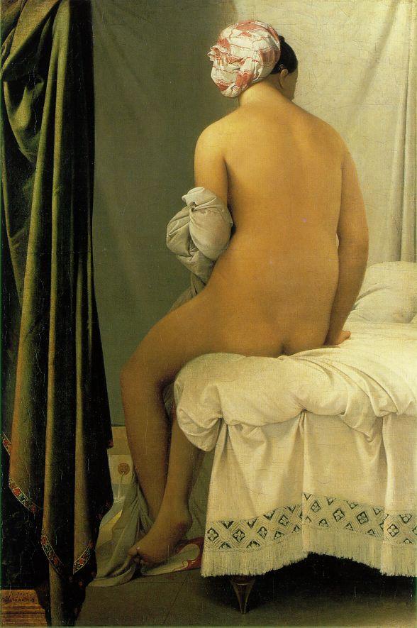 Ingres_The_Bather_of_Valpincon_1808