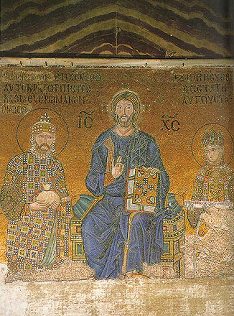 Istantbul_Hagia_Sohpia_Christ_Constantine_IX_Zoe_1042-55