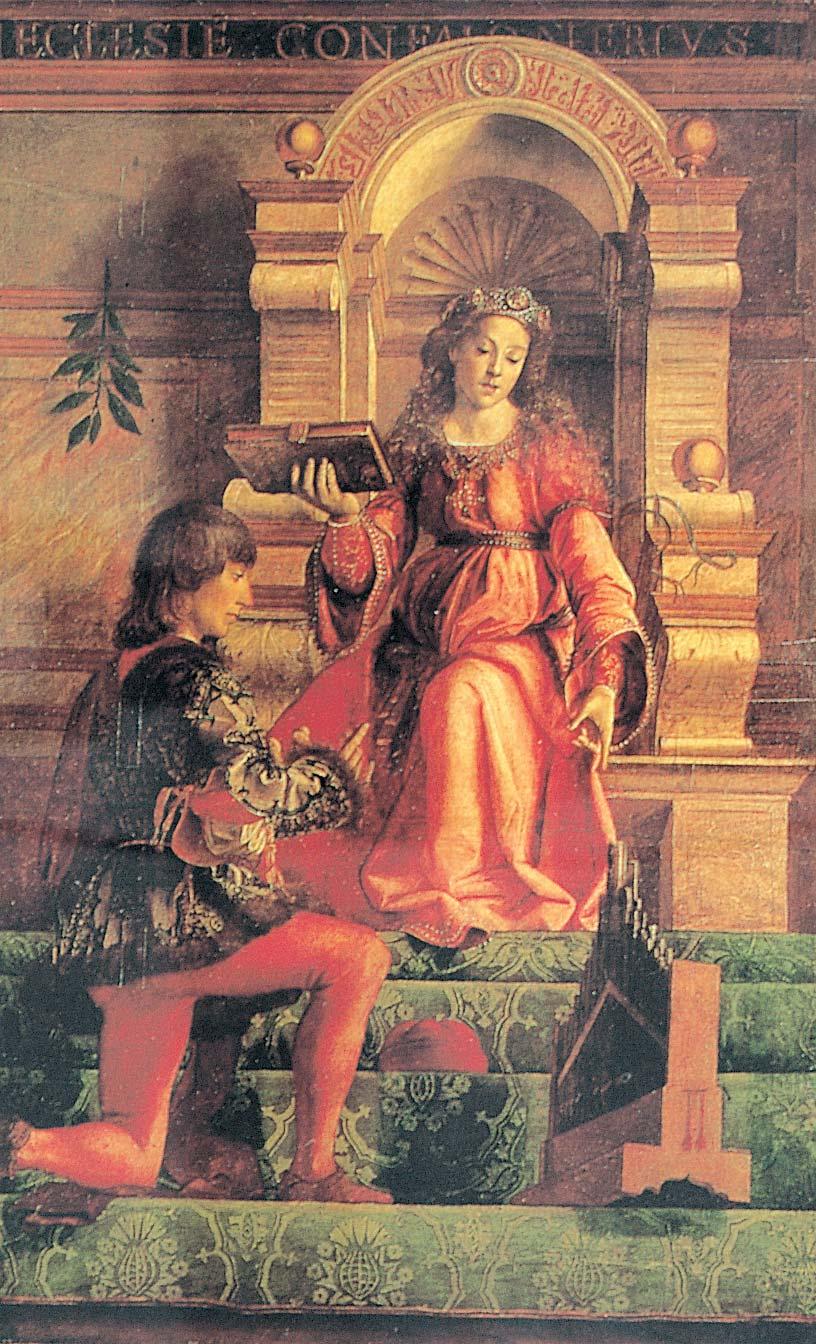 Justus of Ghent Music c1470s
