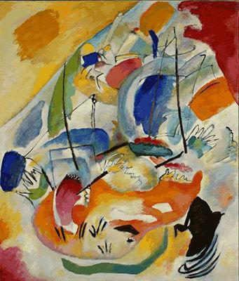 Kandinsky_Improvisation_31_Sea_Battle_1913