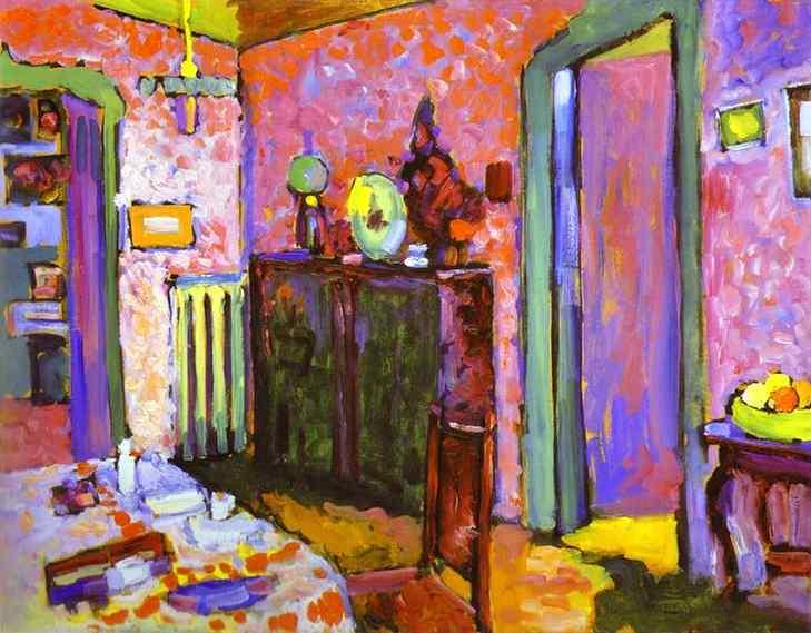 Kandinsky_Interior_My_Dining_Room_1909