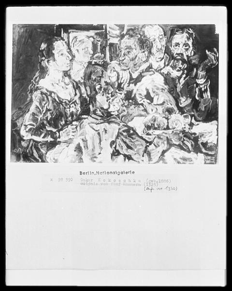 Kokoschka_The_Friends_1917