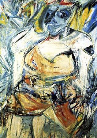 Kooning_Woman_II_1952