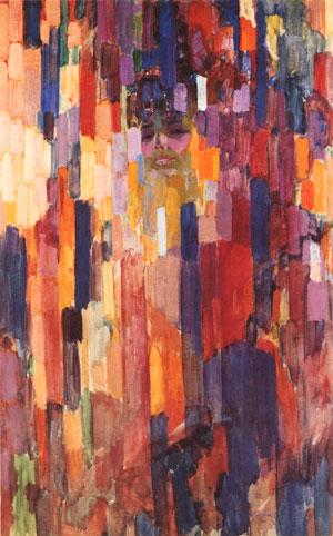 Kupka_Mme_Kupka_Among_Verticals_1910-11