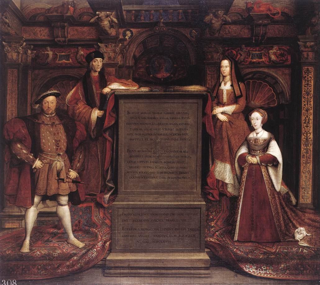 Leemput Henry VIII Whitehall Mural 1667