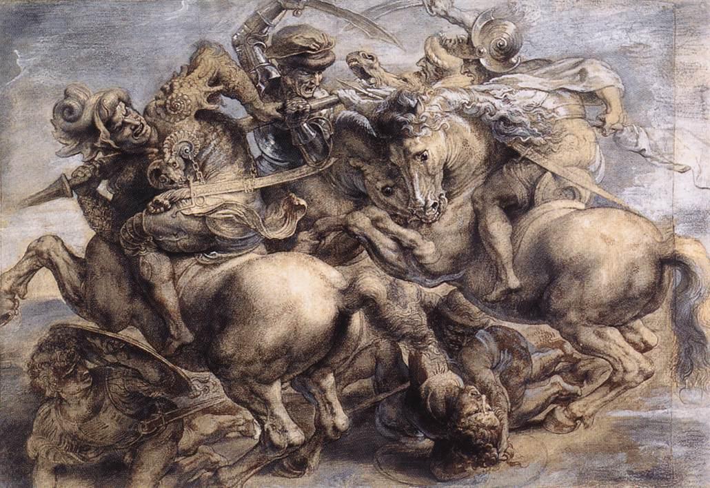 Leonardo_Battle_of_Anghiari_detail_1503-5