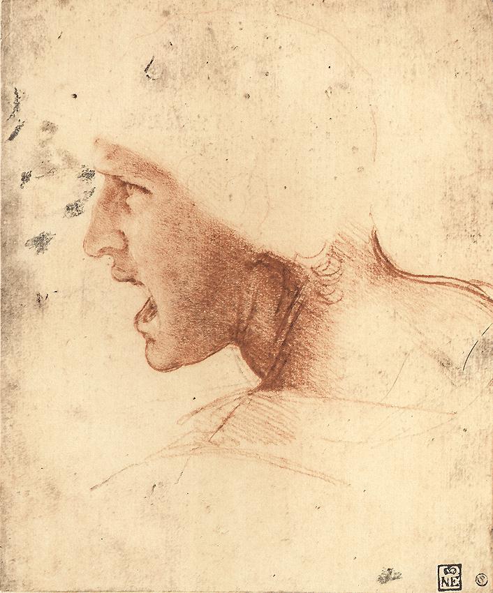 Leonardo_Sketch_Soldier_Battle_Anghiari