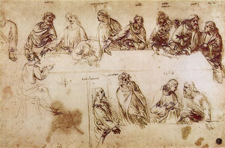 Leonardo_Study_for_Last_Supper