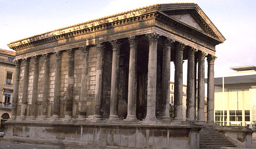Art history by laurence shafe maison carr e nimes art - Maison carree nimes ...