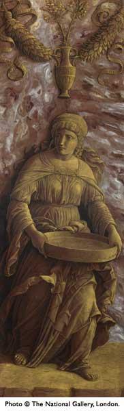 Mantegna The Vestal Virgin Tuccia 1495-1506