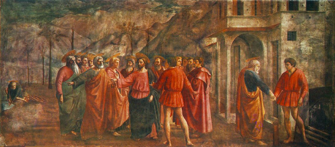 Masaccio_Tribute_Money