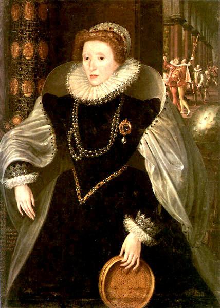 Massys Elizabeth I Sieve Portrait 1583