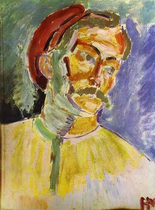 Matisse_Portrait_of_Andre_Derain_1905