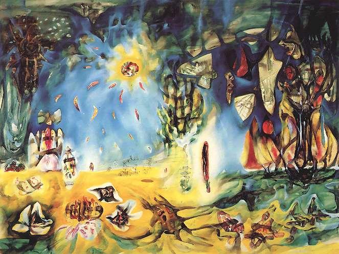 Matta_The_Earth_is_a_Man_1940-1