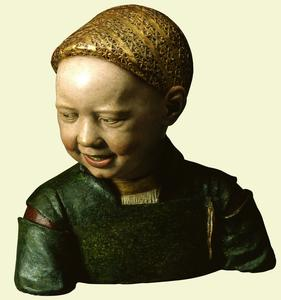 Mazzoni Laughing Child c1498